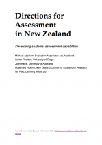 Cover page of Directions for Assessment in New Zealand (DANZ) report