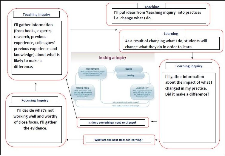 What Does The Nzc Diagram Mean Teaching As Inquiry Practical